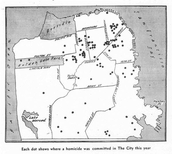 The Zodiac Killer Enigma Murder Map 4