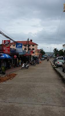 Carretera de la Playa en Sihanoukville