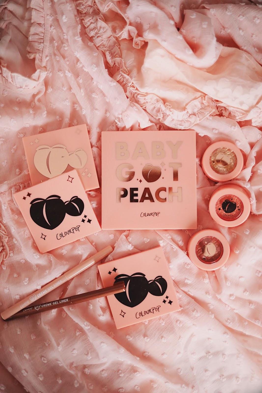 COLOURPOP, colourpopme, peachcollection , peach , baby got peach , baby got peach palette , u wanna peach of me, reviews , Beauty review , blog beauté , paris , rose mademoiselle , rosemademoiselle,