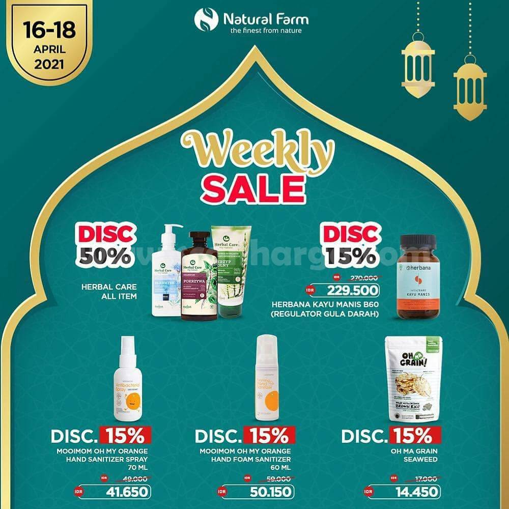 Natural Farm Promo Weekly Hot Sale Up to 50% Off