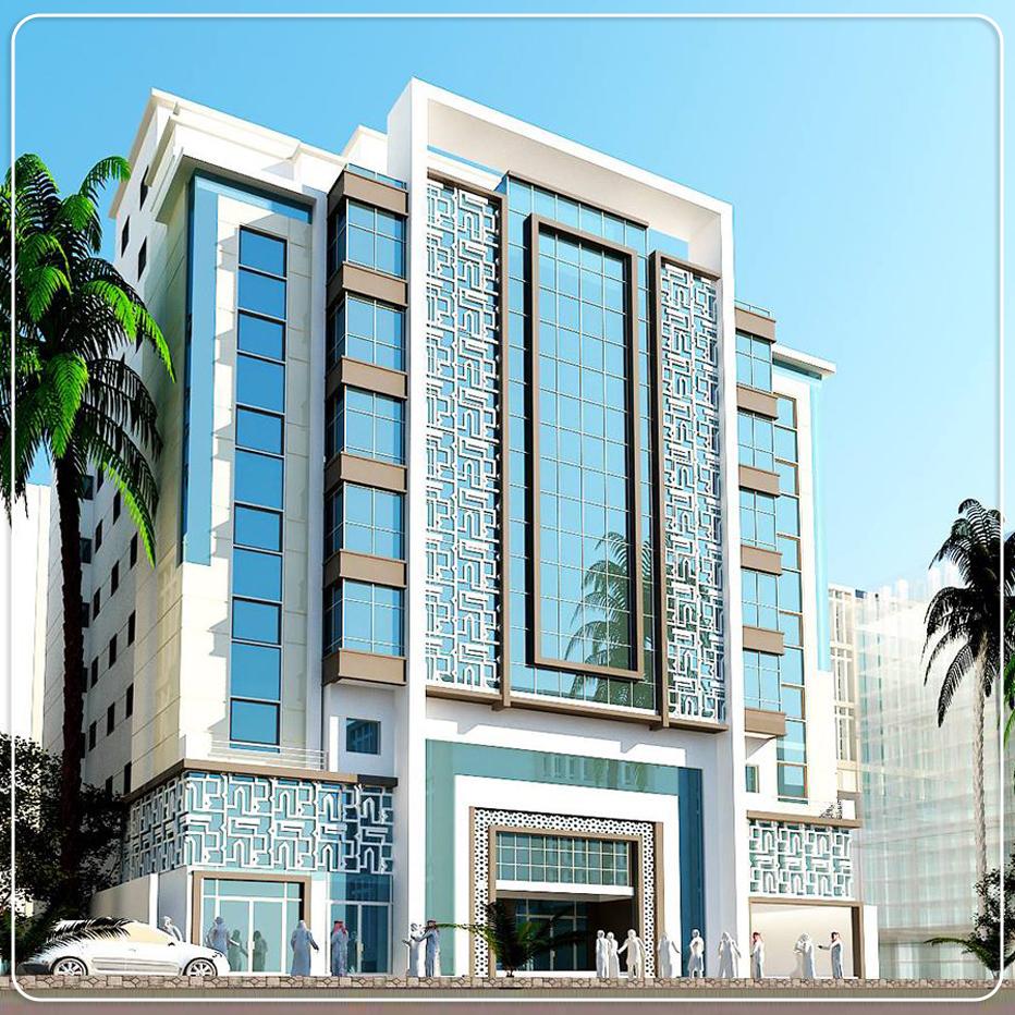 مشروع فندق إسكان حجاج