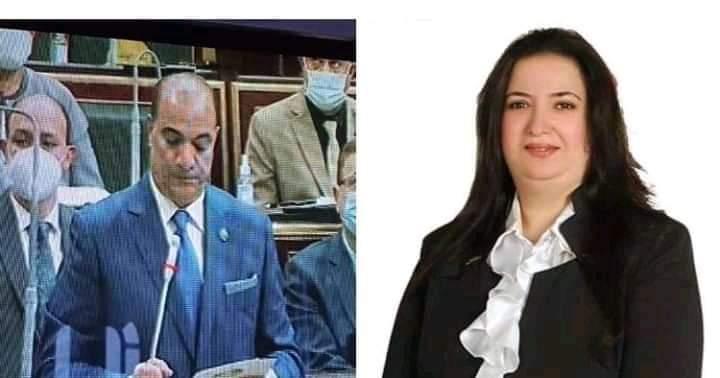 الإعلامية ميادة الحو تهنئ اللواء عبد الله الشيخ لتأديته اليمين الدستورية أمام البرلمان