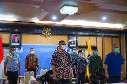 Walikota Mataram Melaksanakan MoU Implemetnasi Smart City Kawasan Prioritas