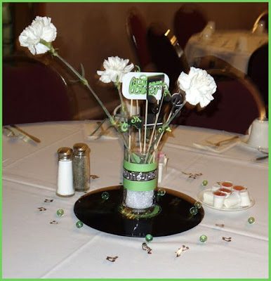 Music Themed Centrepiece, by Grace Baxter