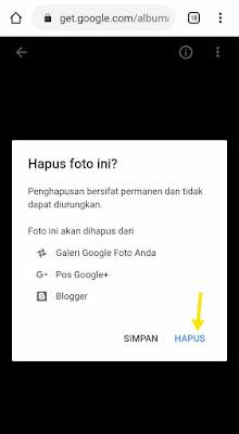 Menghapus dan mengganti foto profil akun google