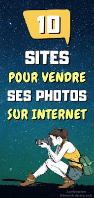 Site pour vendre ses photos