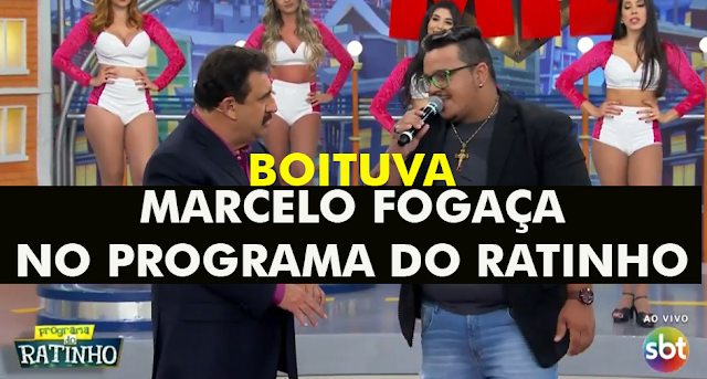 Marcelo fogaça no programa do ratinho