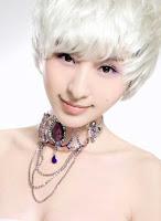 Asian Pixie cute bangs haircut