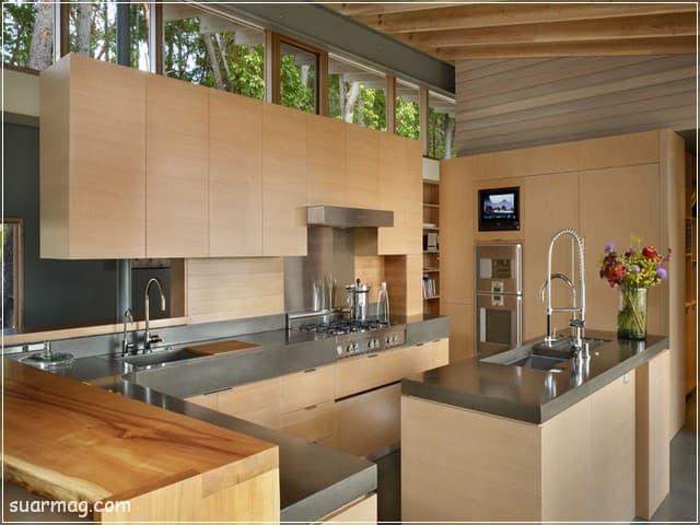 مطابخ خشب 2020 15   Wood Kitchens 2020 15