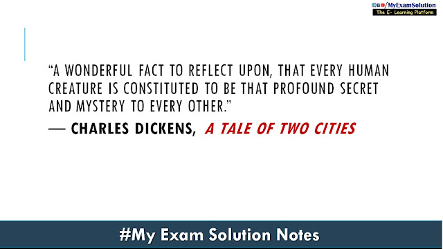 best quote of a tale of two cities, charles dickens quote