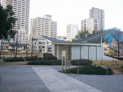 大阪市・中之島公園ウォーキング お手洗い