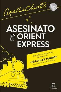 Portada de Asesinato en el Orient Express, de Agatha Christie