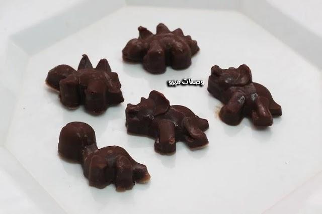 كيفية عمل الشوكولاتة في المنزل