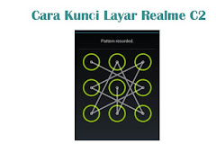 Cara Aktifkan Kunci Layar Pola di Realme C2