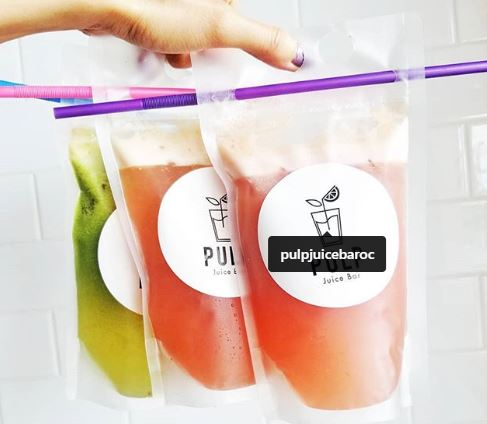 Sept. 21 | BOGO FREE Drinks for @ Pulp Juice Bar - Orange