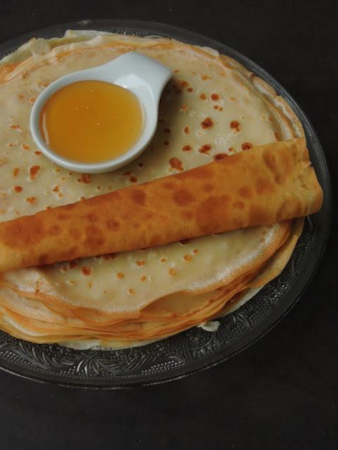 Somali Sweet Pancakes, malawah