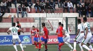 المغرب التطواني يحقق الفوز على فريق الدفاع الحسني الجديدي في الدوري المغربي