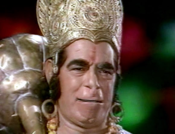 Dara Singh As Hanuman In Ramayan of Ramanand Sagar - Ramayan