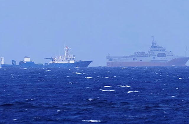 Căng thẳng: tàu Trung Quốc khiêu khích gần bãi Tư Chính!