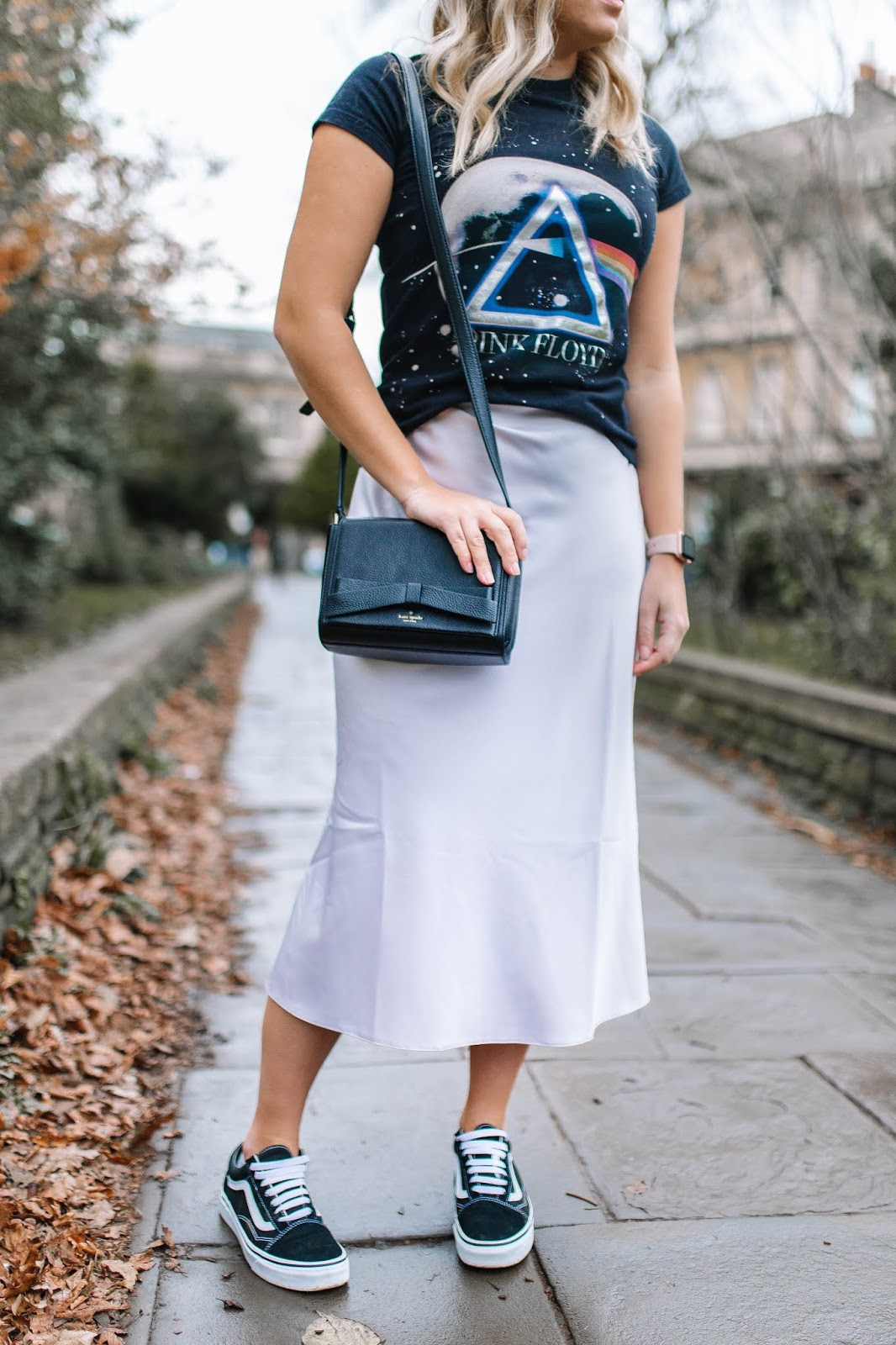 Fashion | The Skirt Everyone Is Wearing - Bias Cut Midi Skirt | Rachel Emily Blog