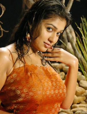 Nayanthara wet photos