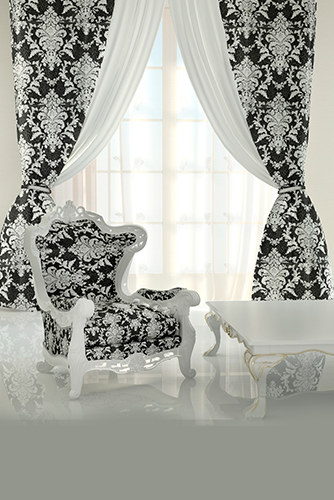 White Curtains black and white curtains : Modern White Curtain Designs in Trends! (25 ideas)