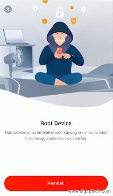 Cara Instal Aplikasi LinkAja di HP Root