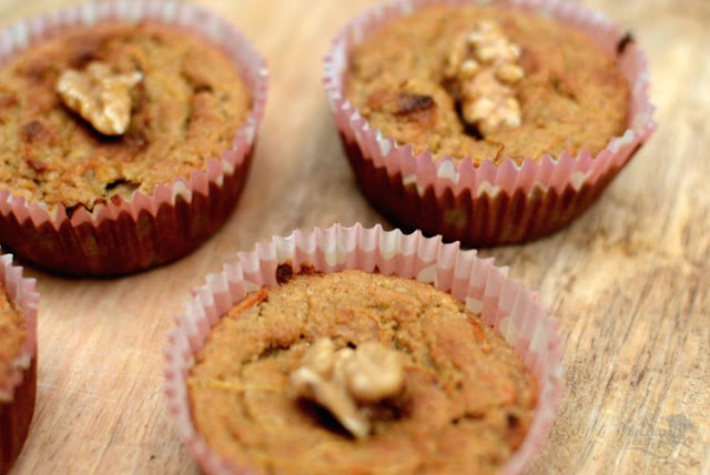 muffins de harina de avena manzana y zanahoria 03