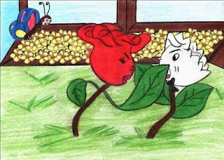 Porque a Rosa brigou com o Cravo?