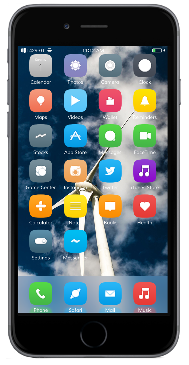 Download 24 Awesome iOS 9 themes for iPhone/iPad - iMangoss