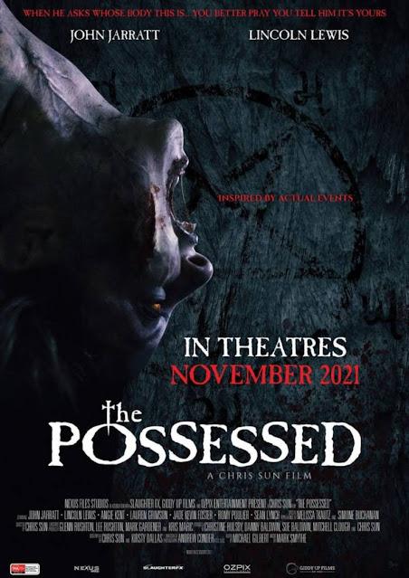 Pòster oficial THE POSSESSED de Chris Sun