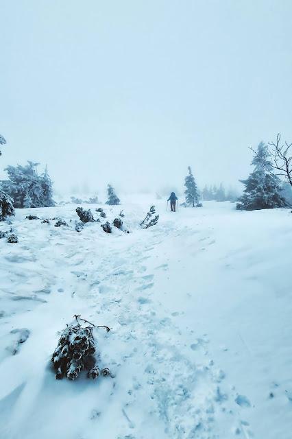 Śnieżka zdobyta zimą