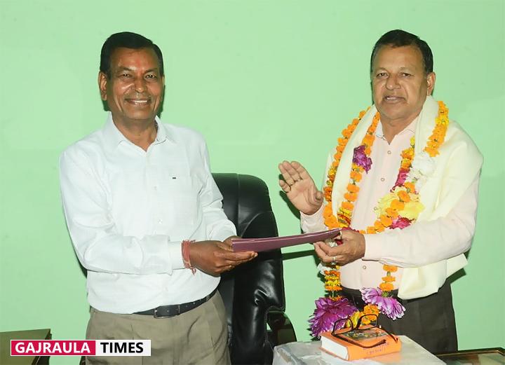 ज्ञान भारती इंटर कॉलेज की कमान अशोक कश्यप के हाथों में