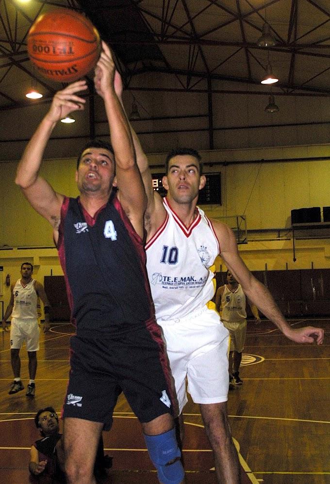 Ρετρό: Φωτορεπορτάζ από τον αγώνα Αρμενική-Ζέφυρος για τη Β΄ ΕΚΑΣΘ ανδρών την περίοδο 2003-2004