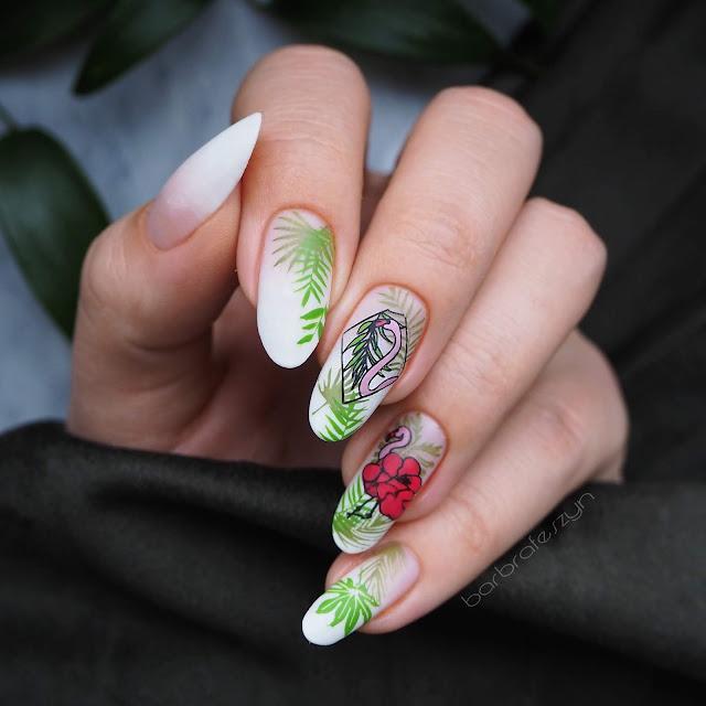 letnie zdobienie paznokci