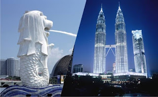 4 Roaming Singapura dan Malaysia