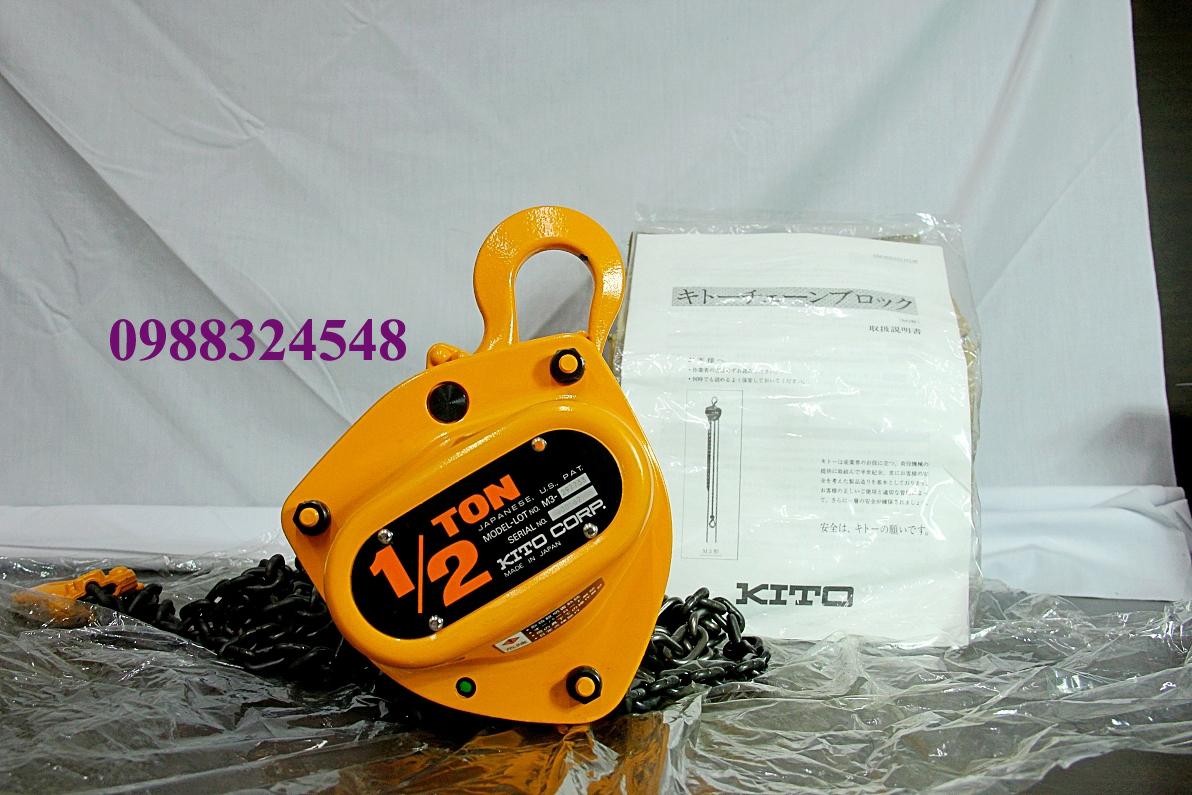 palang kéo tay kito CB005 500kg