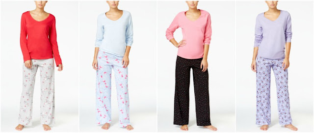 Charter Club Knit Pajama Sets $8 (reg $42)