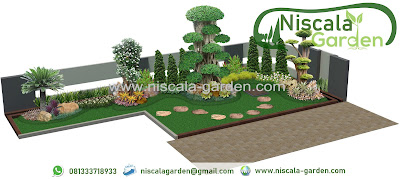 Desain Taman Minimalis dan Taman Tropis