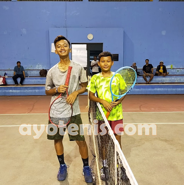 Kejurnas Tenis Yunior Piala Pengkab Pelti Klaten: Hasil Hari Ketiga, Sabtu (4 Desember 2020)