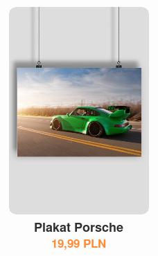 Plakat Porsche