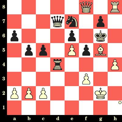 Les Blancs jouent et matent en 4 coups - Walter Browne vs Mato Damjanovic, Venise, 1971