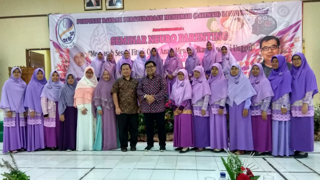 Organisasi Salimah Lambar Gelar Seminar Neuroparenting
