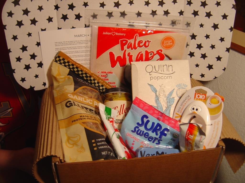 American Gluten-Free Subscription Box March 2016