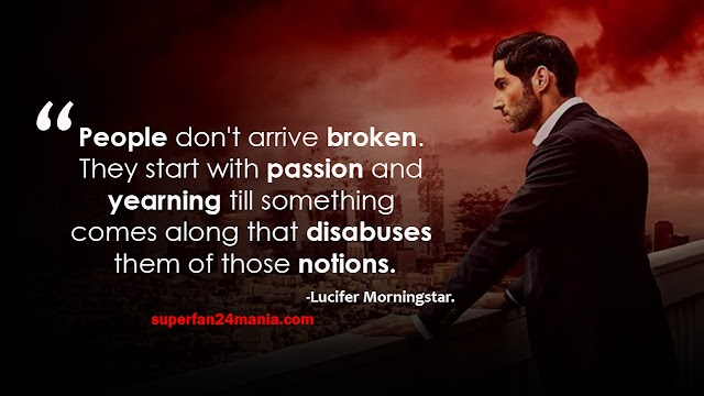 20 Best Lucifer Morningstar Quotes with images | Lucifer Quotes | Tom Ellis Lucifer Quotes images.