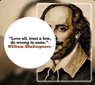 William Shakespeare quote