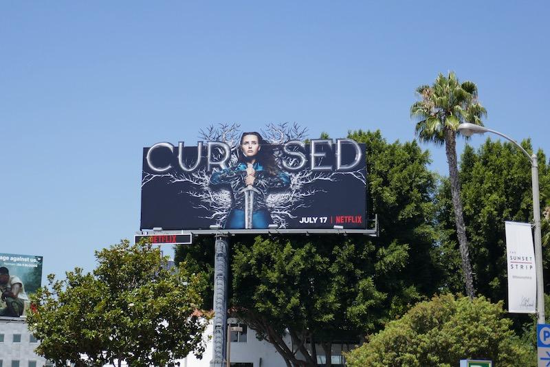Cursed extension billboard