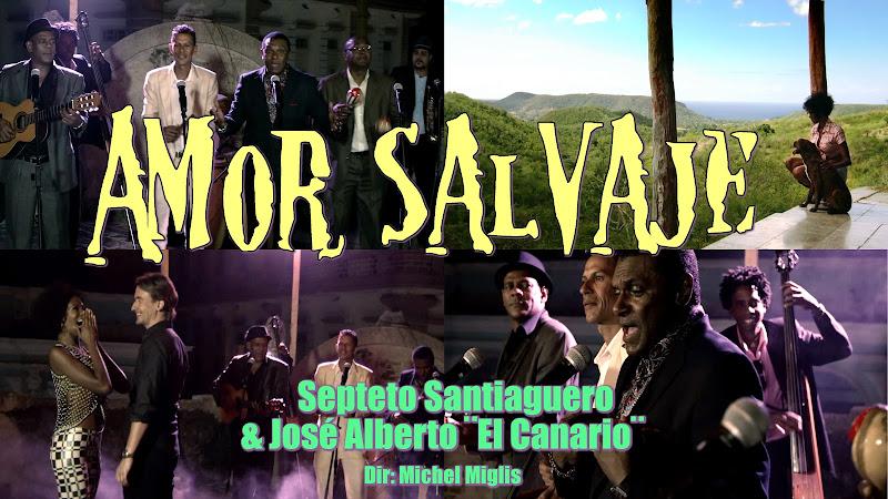 Septeto Santiaguero & José Alberto (El Canario) - ¨Amor silvestre¨ - Videoclip - Director: Michel Miglis. Portal Del Vídeo Clip Cubano
