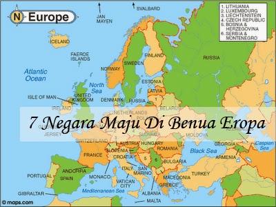 7 Negara Maju Di Benua Eropa