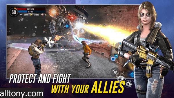 تحميل لعبة Cyber Prison 2077 Future Action Game against Virus للأندرويد XAPK